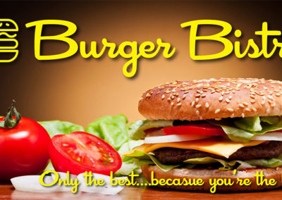 Burger BIstro Menu 3
