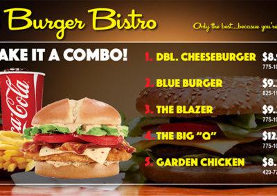 Burger BIstro Menu 4